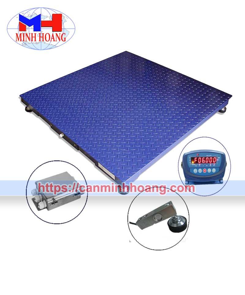 Cân sàn điện tử 3 tấn keli