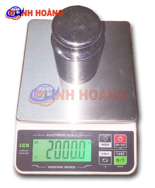 Cân điện tử mini LCD MH scale